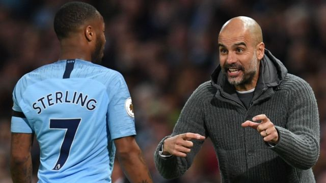 Pep's most used starting XI